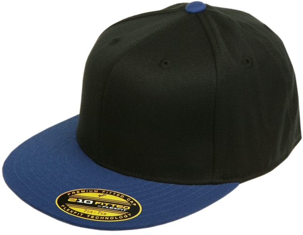 6210-Flexfit-Premium-Fitted-Flatbill-Baseball-Blank-Plain-Hat-Cap-Flex-Fit-210